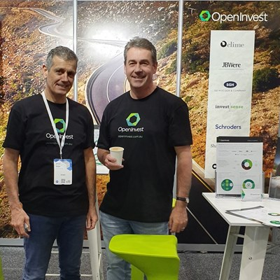 OpenInvest's Andrew Varlamos and James Beckford